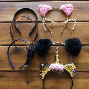 Collection of girls Headbands hair accessories